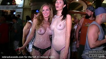 Chicks naked on the street Last day and night of fantasy fest from key west florida hot girls naked in the streets