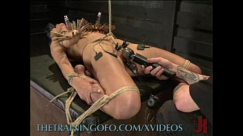 Gags and hooks for bondage Whipping into submission