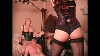 Femdom panties licking tube - Whipped while licking mistress pussy - femdom tube