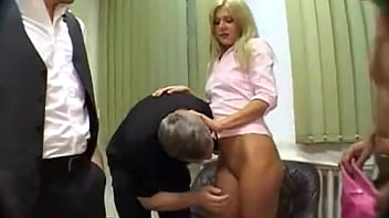 Extreme Dp Anal Water Sports Gangbang For Blonde Euro Babe
