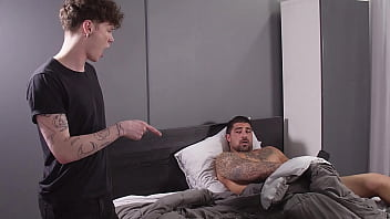 Son is Pretty Damned Good At Sucking Dick, So I Bend Him Over On The Couch And Show Him Exactly What I'm Looking For In A Bottom - Ryan Bones, Marco Biancci