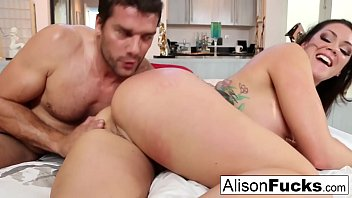 Sexy rough fuck with Alison Tyler and a hung spanish stud Vorschaubild