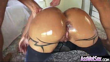 (jewels jade) Big Butt Girl Get Oiled And Anal On Camera mov-12