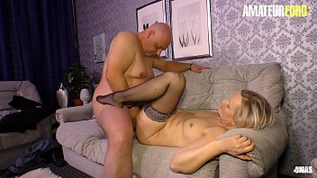 AMATEUR EURO - German Mature Wife Hard Pounded By Horny Chubby Husband