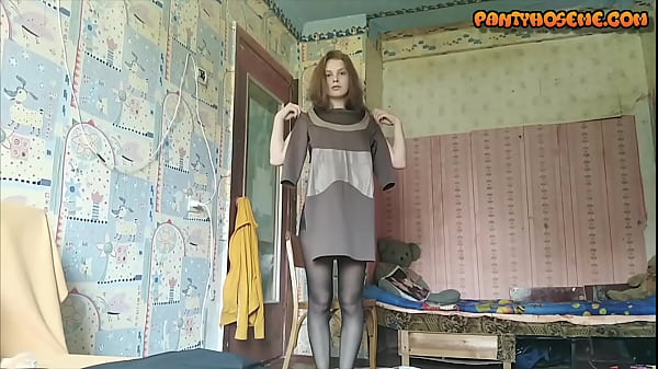 Stacy Wants To Know Which One You Like: Pantyhose Or Bare Legs?