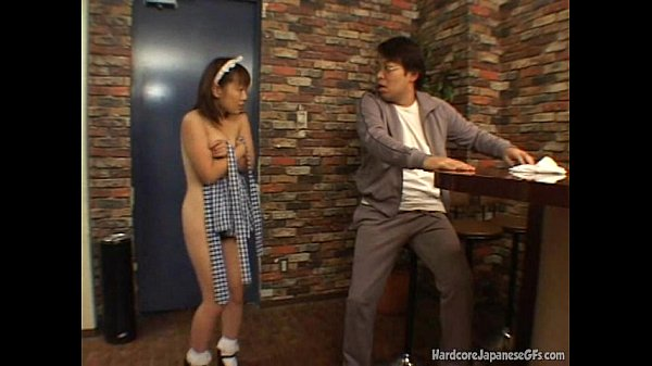 Japanese Bar Maid Gets Fucked And Cumloaded