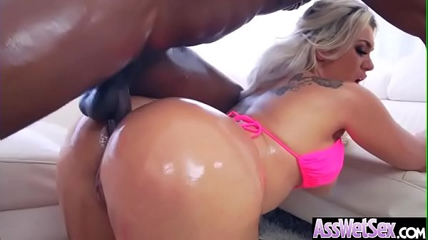 Anal Sex With Horny Big Butt Oiled Girl (Assh Lee) video-09