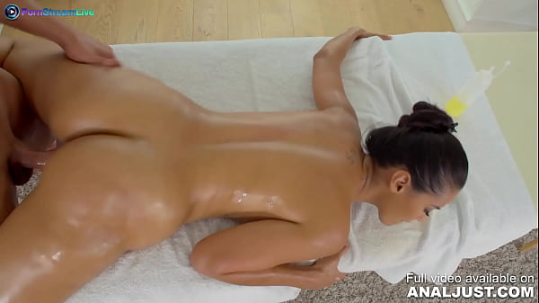 Only3x (Just Anal) brings you - Just Anal presents - Bootylicious Adreina De Luxe got her happy ending after massage