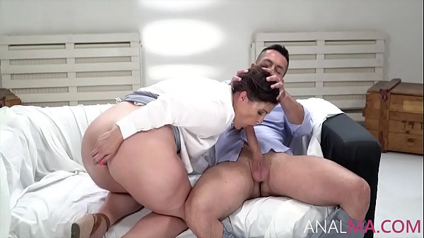The Surprise Anal With Horny MILF- Montse Swinger