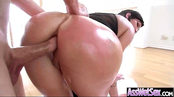 Anal Sex With Big Curvy Oiled Wet Butt Girl (shay fox) vid-27