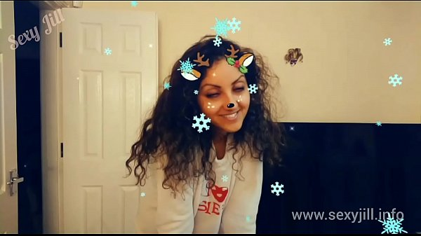 Christmas s. teen gives best deepthroat blowjob with massive cumshot swallow t. hot shots POV Indian