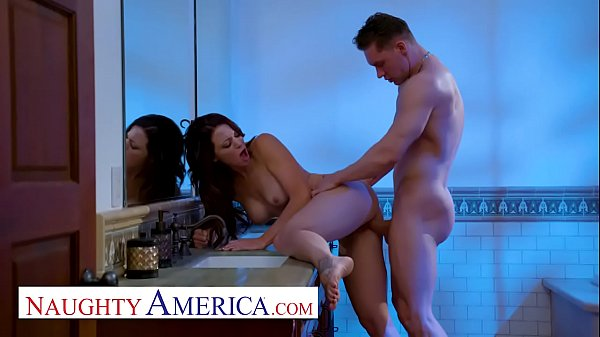 Naughty America - Audrey Miles sneaks a fuck with her friends husband