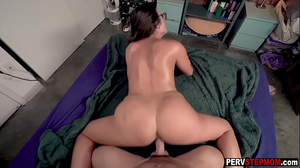 MILF stepmom knows what is best for her horny stepson