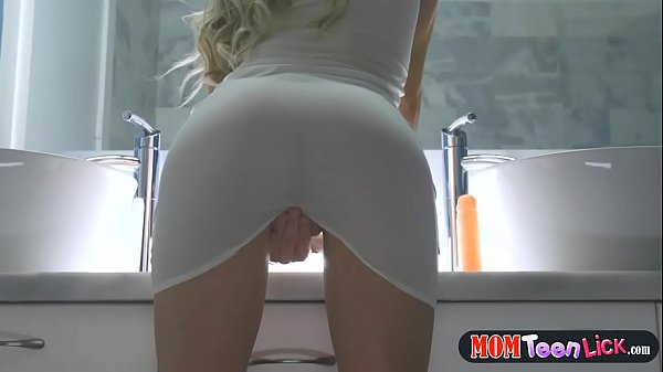Teen and MILF have a dildo duel to see who rides it the best