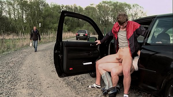 GAYWIRE - Hitchhiking Leads To Public Gay Sex (...