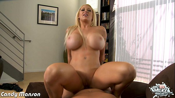 Chesty blonde babe Candy Manson take cock Thumb