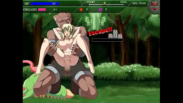 Exogamy Justice Sera hentai game gameplay . Pretty girl having sex with monsters men in forest xxx hentai Thumb