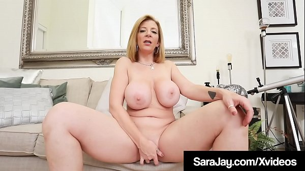 Thick PAWG Sara Jay Squirts Girly Cum While Finger Banging!