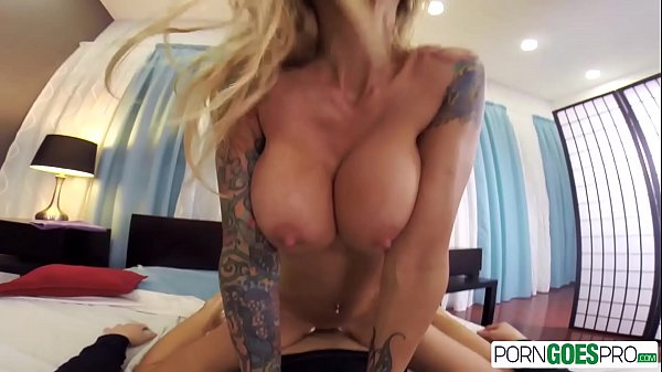 PornGoesPro - Sarah Jessie is punished by a monster cock, big boobs & massage