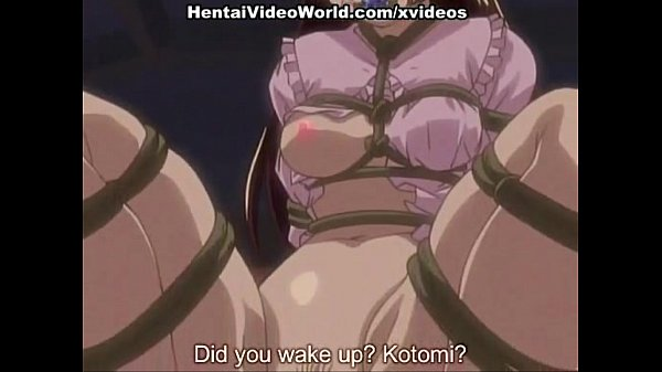 Hardcore hentai sex with strap-on
