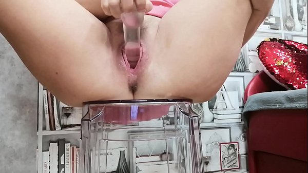 Horny milf play with new transparent toy and cum. Thumb