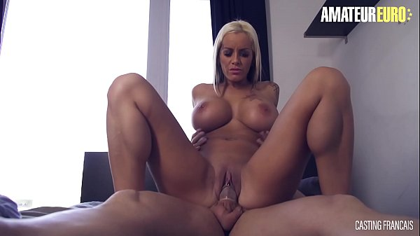 AMATEUR EURO - Busty Experienced Babe Gives A Try To Porn Industry