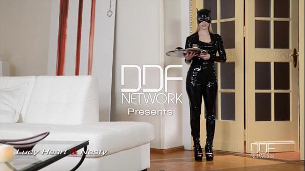 Latex Femdom enjoys Anal Sex show with Russian starlet Lucy Heart Thumb