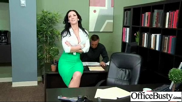 Office Sex Tape With Naughty Lovely Bigtits Girl Movie-18