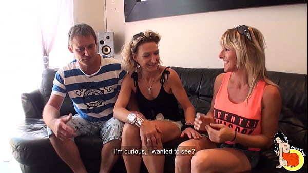 40yo milf Sylvie and Tonio, an amateur couple, wanted to shoot for the first time Thumb