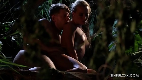 Sensual Couple Save Broken Relationship in the Jungle Thumb