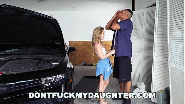 18yo Teen Lilly Ford Fucks Daddy's Mechanic Fri...