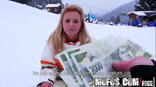 Czech Public Pickups Nathaly on mountains