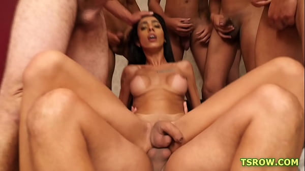 Shemale Alice Marques - The Gangbang Thumb
