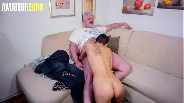 AMATEUR EURO - Lonely Wife Call The Neighbor Fo Some Fun While Husband It's Working