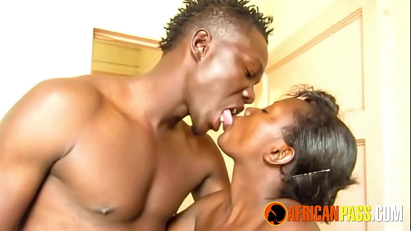 Black Couple Soapy Shower Blowjob and Fuck