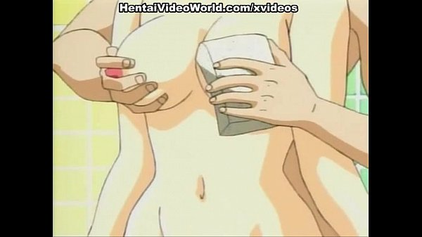 Hentai pussy fingered in bathroom before hot sex
