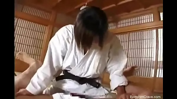 Karate master pegging his ass  thumbnail