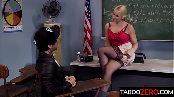 MILF teacher getting fucked by her stepson