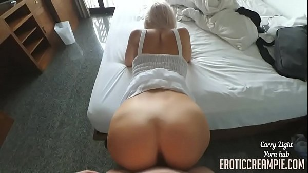 CREAMPIED BY STRANGER FROM TINDER  CARRY LIGHT for more eroticcreampie.com