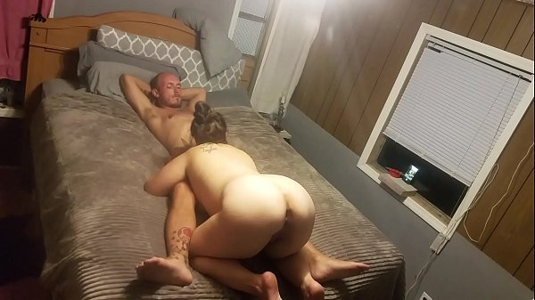 Thick wife rides for creampie (Follow on snap @...