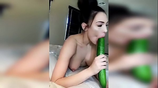 HadCore Masturbation With A Big Cucumber