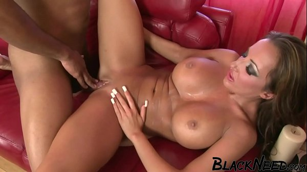 Step Mom With Huge Silicone Tits Wants A Black Guy!