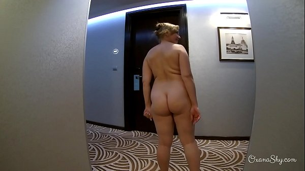Compilation of three nude dares in hotel