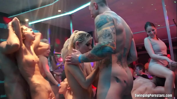 Beautiful cheating amateur whore Elis gets barebacked in a club in DSO Bridal Fuck Wars Thumb