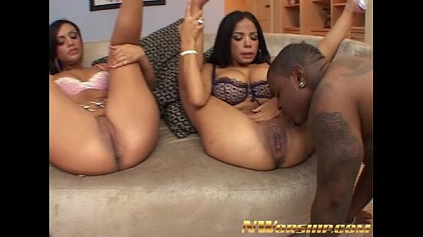 Black girls having threesomes
