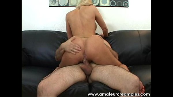 Pretty Blonde with Nice Breast Cowgirl Fuck Thumb