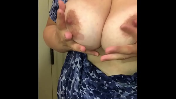 Bathroom Solo With BIG Tits, Open Holes and Booty Shaking