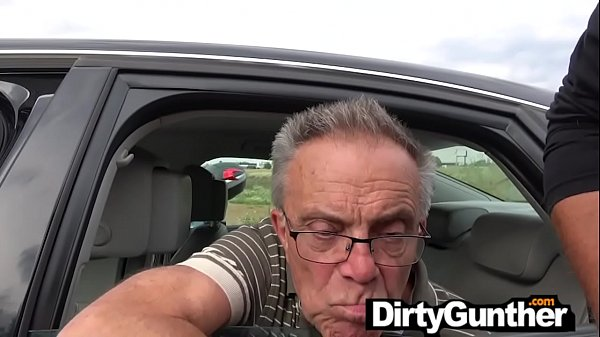 Grandpa hasn't fucked in ages!