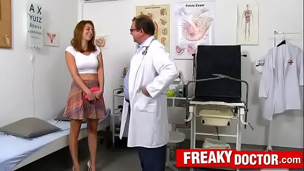 Antonia Sainz a busty babe fucking-machine treatment by daddy doctor Thumb