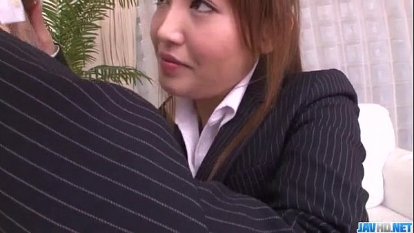 Mami Asakura office adventure with her boss Thumb